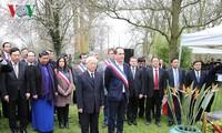 KPV-Generalsekretär Nguyen Phu Trong beginn seinen Besuch in Frankreich