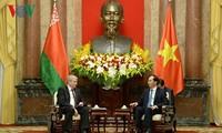 Staatspräsident Tran Dai Quang empfängt den weißrussischen Vize-Premierminister
