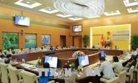 Der Rechtsausschuss des Parlaments überprüft das Programm zum Aufbau der Gesetze und Verordnungen