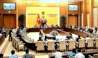 Der Parlamentsausschuss berät den Gesetzentwurf für besondere Verwaltungs- und Wirtschaftseinheiten