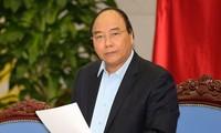 Premierminister Nguyen Xuan Phuc leitet die Sitzung über den Aufbau der Sondergebiete