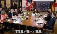 Eröffnung des G7-Außenminister-Gipfels in Kanada