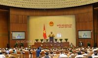 Das Parlament berät das geänderte Gesetz über die Anzeige