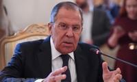 Der russische Außenminister besucht Nordkorea