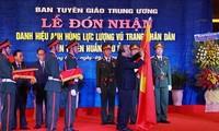 """Abteilung für Aufklärung der Militärzone 5 bekommt den Titel """"Held der bewaffneten Streitkräfte"""""""