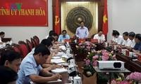 Der Leiter der ZK-Personalabteilung Pham Minh Chinh besucht die Provinz Thanh Hoa