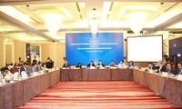 Gespräch über Konferenz des Weltwirtschaftsforums über ASEAN 2018