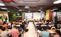 Anwerbung der in-und ausländischen Kräfte für Start-Up in Vietnam