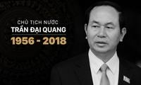 Laos veranstaltet Staatstrauer für Staatspräsident Tran Dai Quang vom 26 bis 27. September