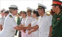 Das Schiff der neuseeländischen Marine zu Gast in Vietnam