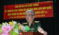 Das vietnamesische Lazarett wird in Südsudan im Einsatz sein