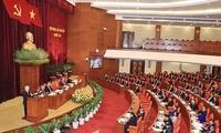 Eröffnung der Sitzung des KPV-Zentralkomitees