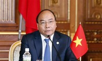 Premierminister Nguyen Xuan Phuc nimmt am Gipfel für Mekong-Japan-Zusammenarbeit teil