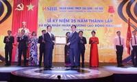 Die Saigon-Hanoi-Bank SHB entwickelt sich umfassend, modern und nachhaltig