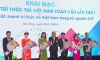 Entfaltung der Kräfte der jungen vietnamesischen Akademiker
