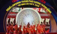 Die Kultur-Tourismuswoche über Reisblätter Trang Bang in Tay Ninh