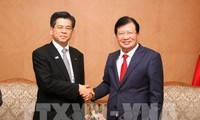 Verstärkung der Zusammenarbeit mit Japan bei Infrastruktur und Katastrophenschutz