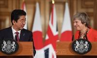 Japan und Großbritannien wollen eine neue Wirtschaftspartnerschaft herstellen