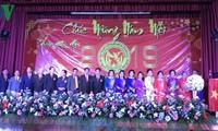 Feier des traditionellen Neujahrsfestes der Vietnamesen in Bangkok