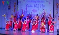 Die Vietnamesen im Ausland feiern das traditionelle Neujahrsfest