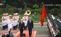 Der argentinische Präsident Mauricio Macri ist zu Gast in Vietnam