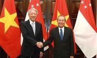 Verstärkung der strategischen Partnerschaft zwischen Vietnam und Singapur
