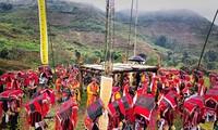 Das Cap-Sac-Fest der Dao-Volksgruppe in Lao Cai