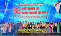 Feier zum Gründungstag des kommunistischen Jugendverbands Ho Chi Minh in den Provinzen