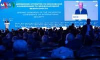 Eröffnung der Moskauer-Konferenz zur internationalen Sicherheit