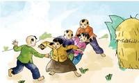Feier zum internationalen Kindertag in der Zitadelle Thang Long