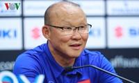 Trainer Park Hang-seo beschließt die Liste für die Fußballmannschaft beim King´s Cup