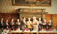 Verstärkung der Zusammenarbeit zwischen der Provinz Long An und der deutschen Stadt Leipzig