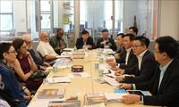 Vietnam und die USA verstärken die Zusammenarbeit bei Politik-Beratung und Akademiker-Austausch