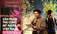 Ausstellung von Brokat und Seidengewändern Vietnams in Südkorea