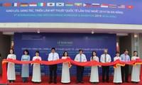 Eröffnung der internationalen Ausstellung für bildende Kunst
