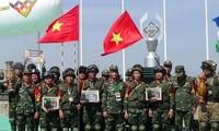 Die Truppe der vietnamesischen Kampfingenieure gewinnt den 3. Preis bei Army Games in Russland