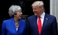 Donald Trump promet un accord commercial solide avec le Royaume-Uni