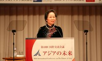 Phó Chủ tịch nước Nguyễn Thị Doan phát biểu tại Hội nghị Tương lai châu Á