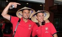 Arsenal và đội tuyển quốc gia Việt Nam thi đấu giao hữu