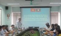 Bồi dưỡng nghiệp vụ cho cán bộ Đảng Nhân dân Cách mạng Lào