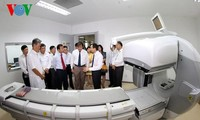 Khánh thành Trung tâm về Y học Hạt nhân và xạ trị khu vực miền Trung