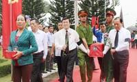 Chủ tịch nước dự lễ truy điệu và an táng liệt sĩ tại thị xã Long Khánh, tỉnh Đồng Nai