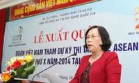Đoàn Việt Nam tham dự kỳ thi tay nghề ASEAN lần thứ 10/2014