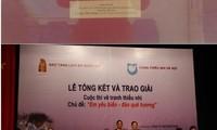 Trao giải cuộc thi tìm hiểu pháp luật về biển đảo Việt Nam