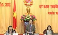 Khai mạc phiên họp thứ 34 Uỷ ban thường vụ Quốc hội