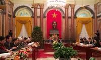 Phối hợp công tác giữa Chủ tịch nước và Đoàn Chủ tịch Ủy ban Trung ương Mặt trận Tổ quốc Việt Nam