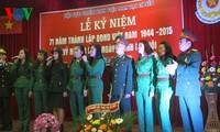 Cựu chiến binh Việt Nam tại Séc kỷ niệm 71 năm ngày thành lập Quân đội Nhân dân Việt Nam