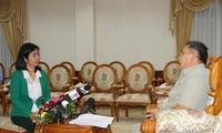 Lãnh đạo Quốc hội CHDCND Lào đánh giá cao vai trò của Quốc hội Việt Nam