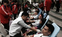 """Chương trình hiến máu tình nguyện Chủ nhật đỏ: """"Hiến máu cứu người: Sinh mệnh của bạn và tôi"""""""