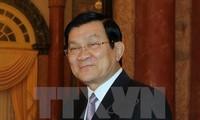 Президент СРВ Чыонг Тан Шанг принимает участие в саммите стран Азии и Африки